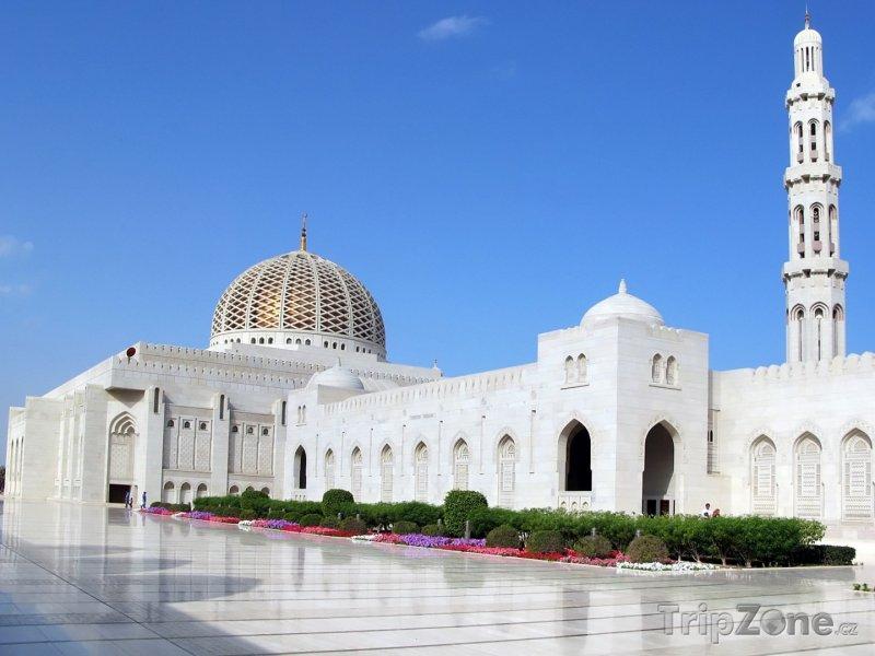 Fotka, Foto Mešita sultána Kábúse v Maskatu (Omán)