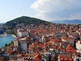 Město Split a kopec Marjan