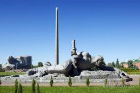 Monument v Pevnosti Hrdinů