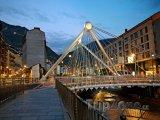 Most Pont de Paris v Andorra la Vella