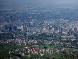 Panorama města Almaty