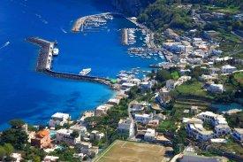 Panorama města Capri