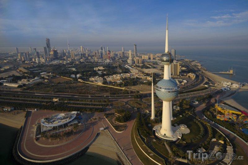 Fotka, Foto Panorama města Kuvajt (Kuvajt)