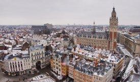 Panoráma města Lille
