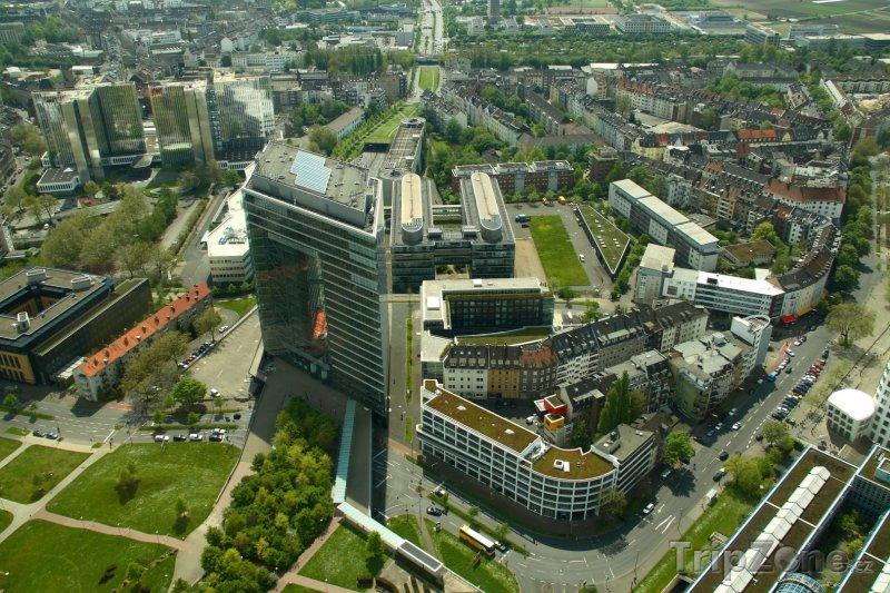 Fotka, Foto Panorama města (Düsseldorf, Německo)