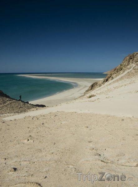 Fotka, Foto Panoráma pláže na ostrově Socotra (Jemen)