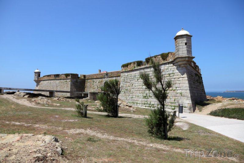 Fotka, Foto Pevnost Queijo (Porto, Portugalsko)