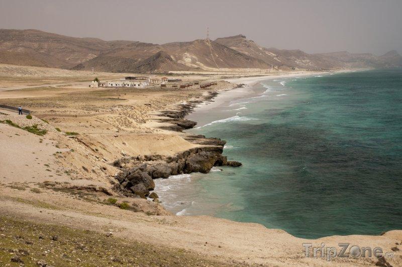 Fotka, Foto Pláž Al Mugsail u města Salála (Omán)