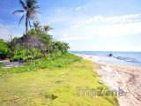 Pláž na Corn Islands