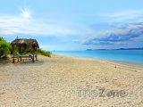Pláž na ostrůvku Klein