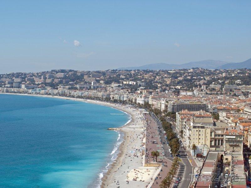 Fotka, Foto Pobřeží Nice (Francie)