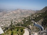 Pohled na město Taiz