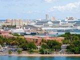 Pohled na přístav San Juan