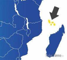 Poloha Kamerunu na mapě Afriky