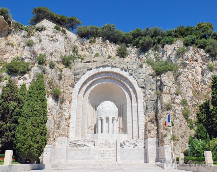 Fotka, Foto Pomník padlým ve válce (Nice, Francie)