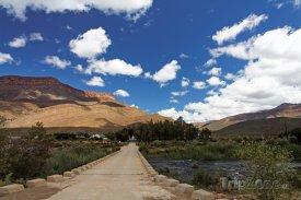 Příjezdová cesta do Gaborone