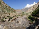Řeka a hora Nanga Parbat