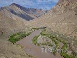 Řeka Araks, hranice s Íránem