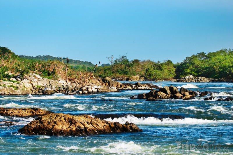 Fotka, Foto Řeka Bílý Nil (Uganda)