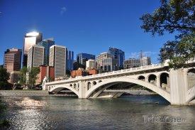 Řeka Bow v Calgary