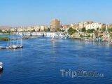 Řeka Nil v Asuánu