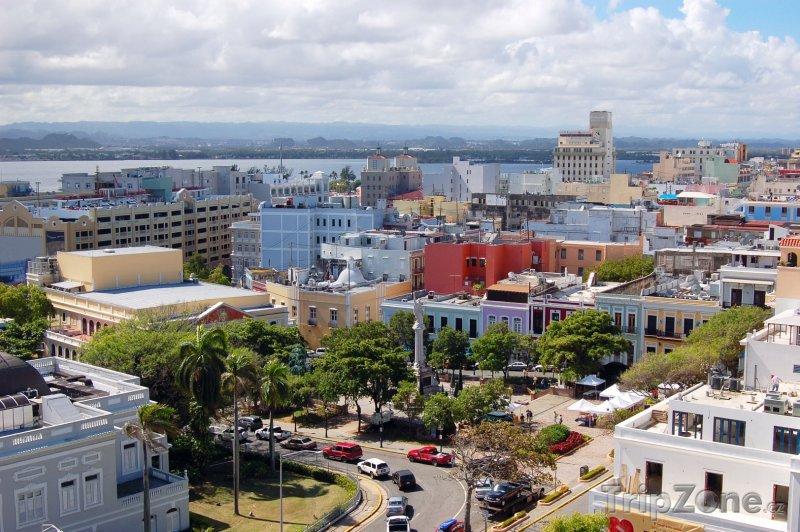 Fotka, Foto San Juan panorama (Portoriko)