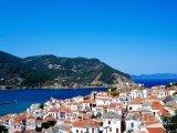 Skopelos, pohled na přístav