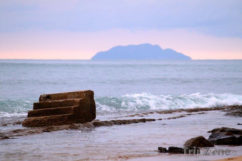 Fotka, Foto Steps Beach poblíž Rincónu (Portoriko)