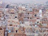 Tradiční architektura ve městě Sanaa