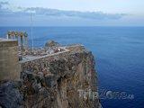 Útes pod Akropolí