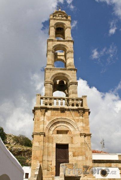 Fotka, Foto Věž kostela (Líndos, Řecko)