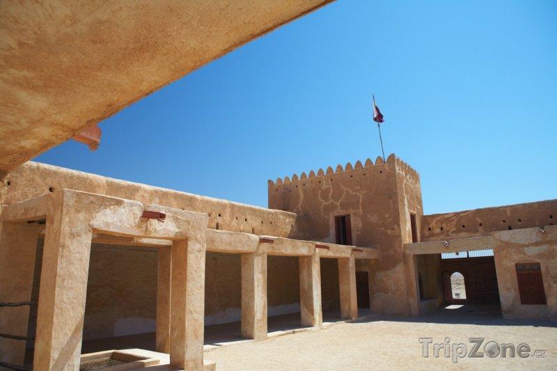 Fotka, Foto Vnitřek pevnosti Zubara (Katar)