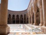 Vnitřek prezidentské mešity v Sanaa