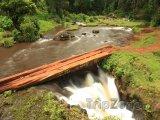 Vrchní část vodopádu Sipi