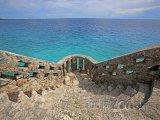 Vyhlídka u Karibského moře
