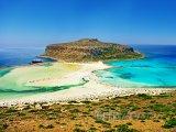 Zátoka Balos na Krétě