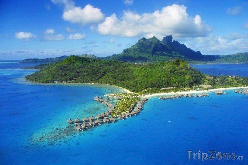 Fotka, Foto Bora Bora a hora Otemanu (Francouzská Polynésie)