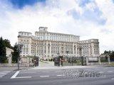 Budova parlamentu v Bukurešti, nazývaná též Ceaušeskův palác