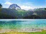 Černé jezero a pohoří Durmitor