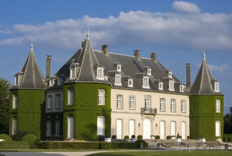 Fotka, Foto Château Solvay v La Hulpe (Belgie)