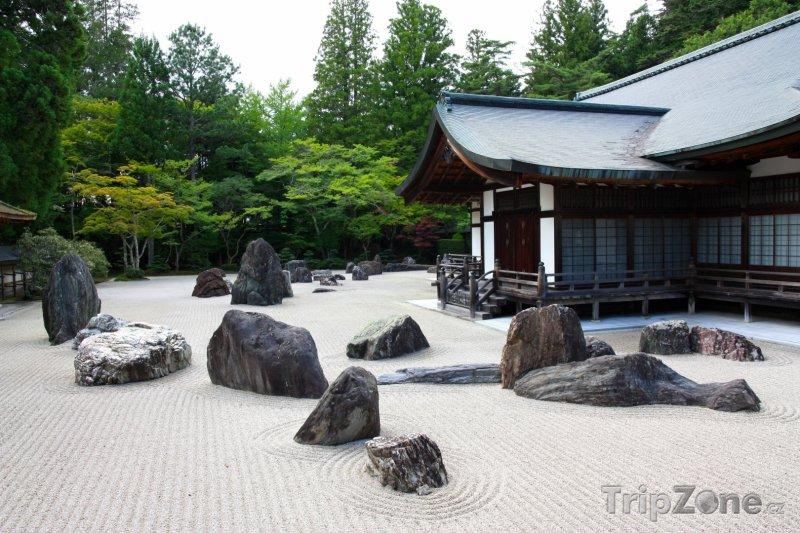 Fotka, Foto Chrám Kongōbu-ji na hoře Kója (Japonsko)