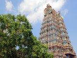 Chrám Šrí Minákší ve městě Madurai
