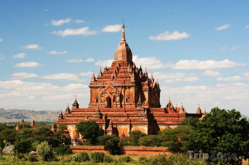 Fotka, Foto Chrám ve starověkém městě Bagan (Barma)