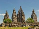 Chrámový komplex Prambanan na Jávě