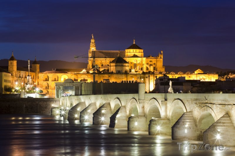 Fotka, Foto Córdoba, most Puente Romano (Španělsko)