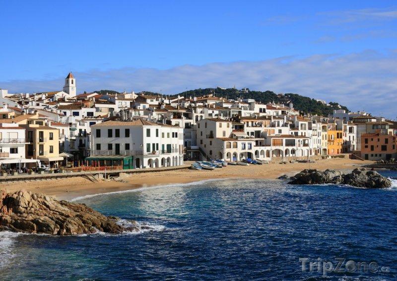 Fotka, Foto Costa Brava, město Calella de Palafrugell (Španělsko)