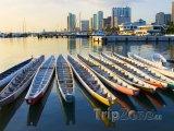 Dračí lodě v Manila Bay
