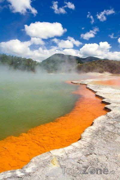 Fotka, Foto Geotermální oblast Wai-O-Tapu (Nový Zéland)