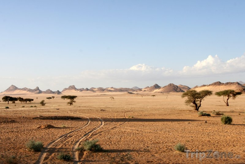Fotka, Foto Hory na Sahaře (Alžírsko)