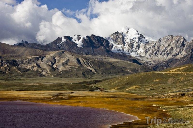 Fotka, Foto Jezero Colorado (Bolívie)